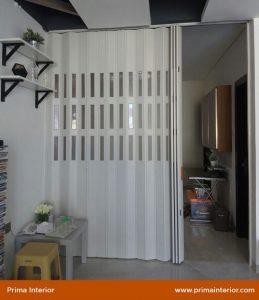 harga folding door PVC