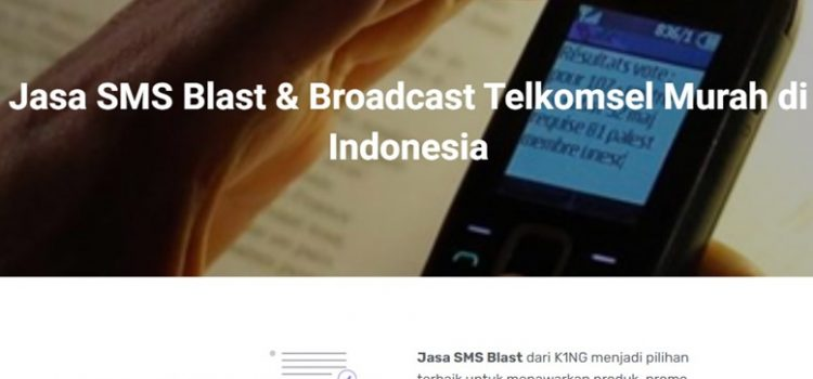 Jasa SMS Blast