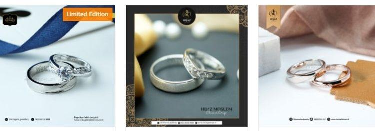 7 Rekomendasi Cincin Pernikahan Emas Magelang Halal dan Berkualitas